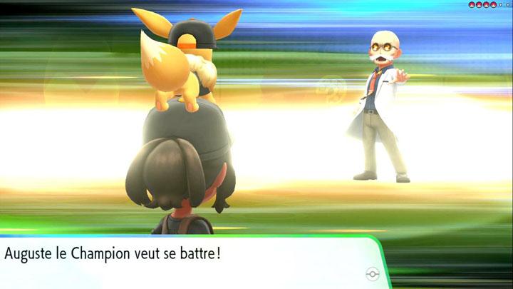 Arène de Cramois'Île Pokémon Let's Go Pikachu et Évoli