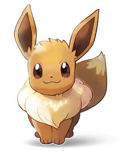 Évoli Pokémon Let's Go Pikachu et Pokémon Let's Go Évoli