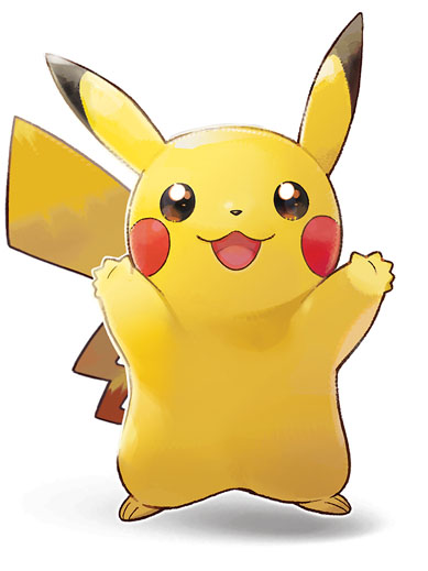 Pikachu Pokémon Let's Go Pikachu et Pokémon Let's Go Évoli