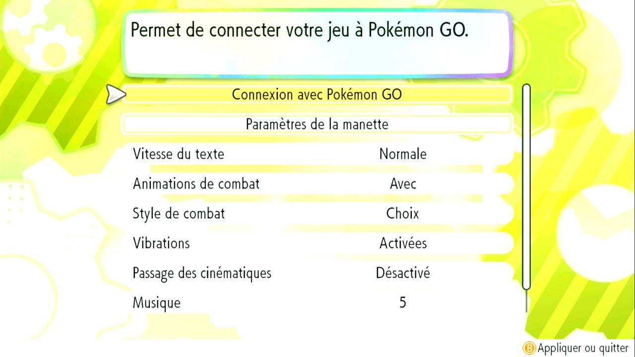 Transférer des Pokémon depuis Pokémon GO sur Pokémon Let's GO Pikachu et Évoli