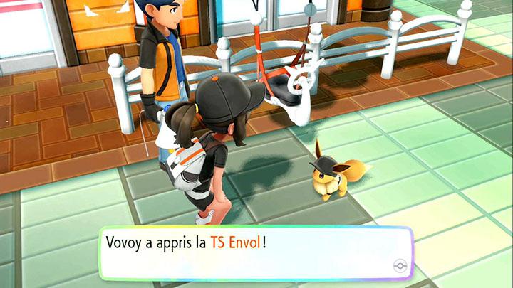 Technique Secrète Envol Pokémon Let's Go Pikachu et Évoli