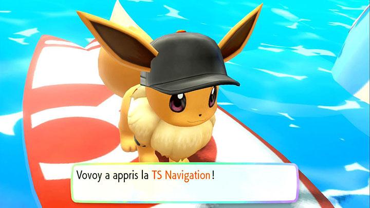 Technique Secrète Navigation Pokémon Let's Go Pikachu et Évoli