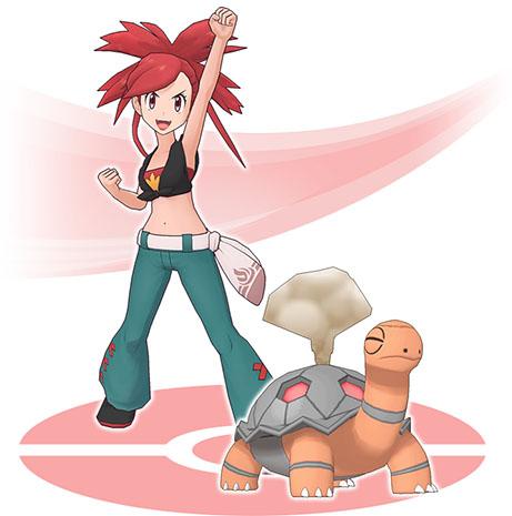 Duo Adriane et Chartor< Pokémon Masters