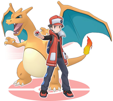 Duo Red et Dracaufeu Pokémon Masters