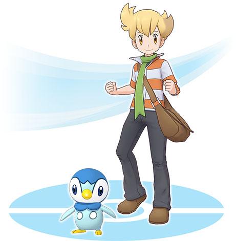 Duo René et Tiplouf Pokémon Masters