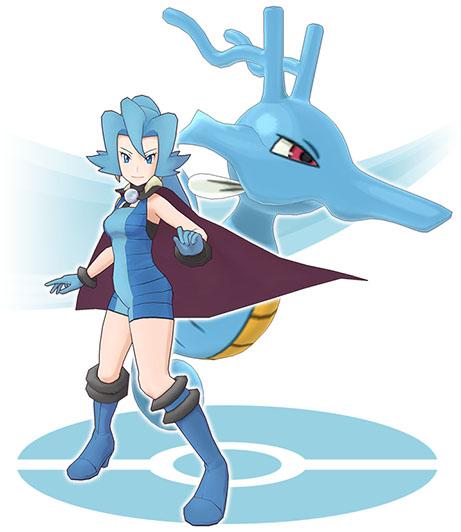 Duo Sandra et Hyporoi Pokémon Masters