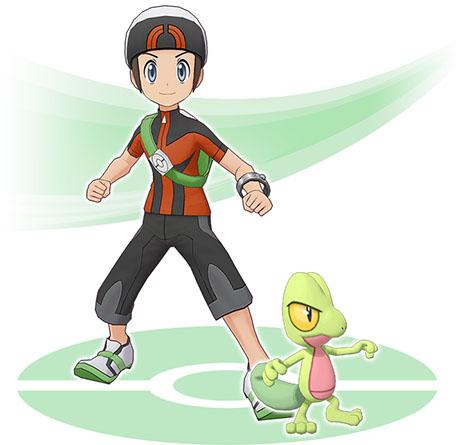 Duo Brice et Arcko Pokémon Masters