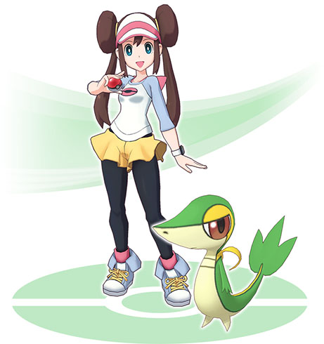 Duo Echo et Vipélierre Pokémon Masters