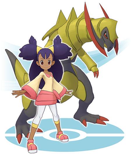 Duo Iris et Tranchodon Pokémon Masters