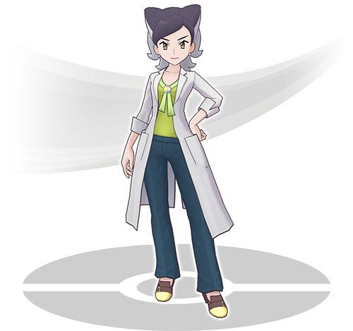 Professeur Bellis Pokémon Masters