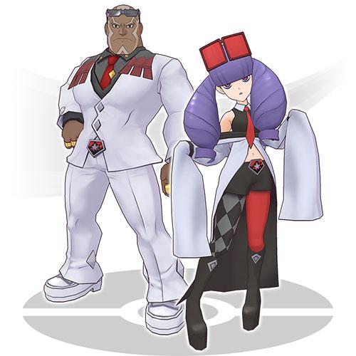 Elvis et Cléa Pokémon Masters