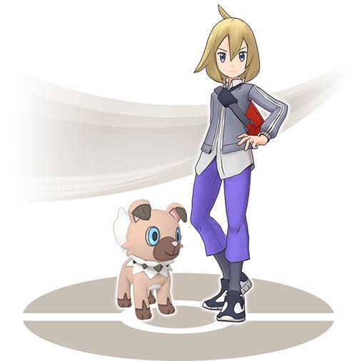 Kyrill et Rocabot Pokémon Masters