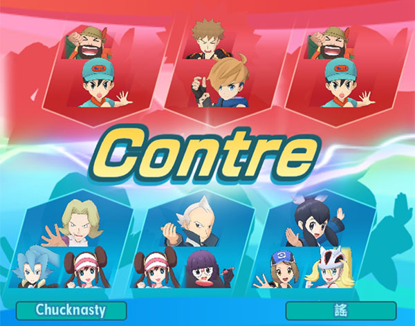 Le mode Co-Op Pokémon Masters