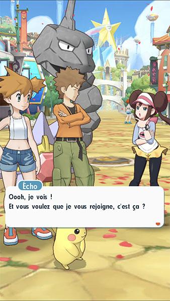 Screenshot Pokémon Masters
