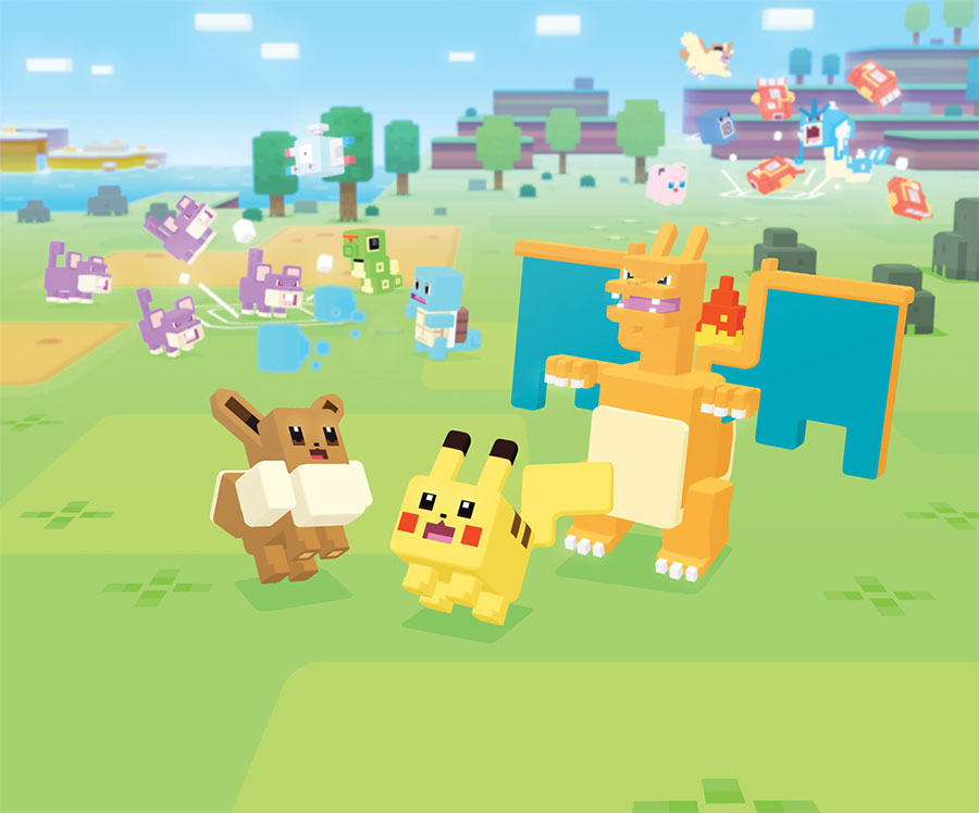 Artwork Pokémon Quest