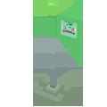 Drapeau Bulbizarre Pokémon Quest