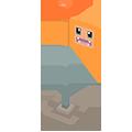 Drapeau Salamèche Pokémon Quest