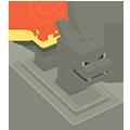 Flambeau Dracaufeu Pokémon Quest