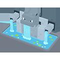 Fontaine Tortank Pokémon Quest