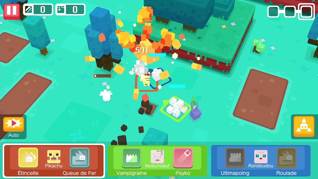 Screenshot Pokémon Quest