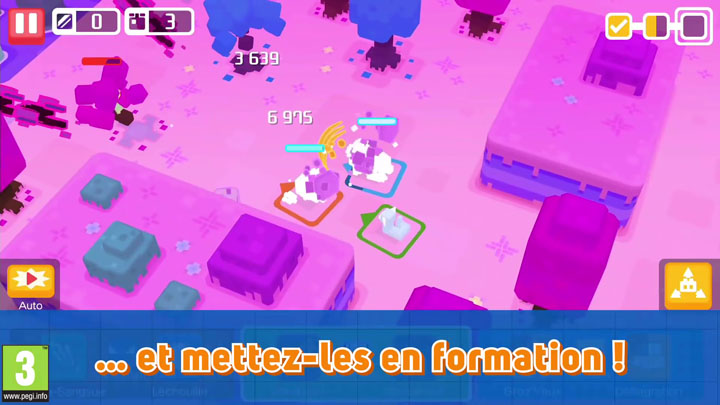 Screenshots Pokémon Quest