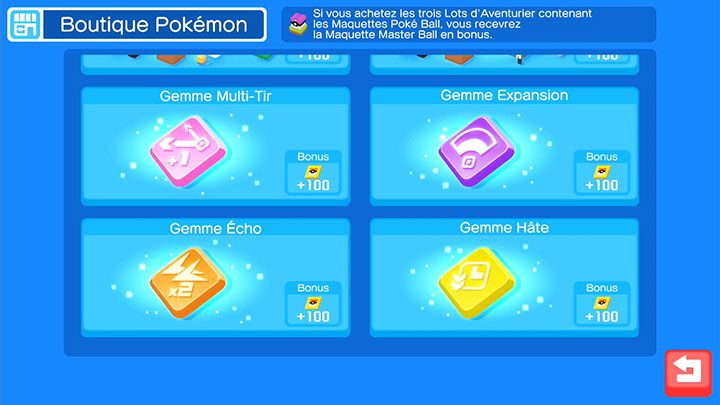 La Boutique Pokémon - Pokémon Quest