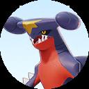 Combattant Carchacrok sur Pokémon UNITE