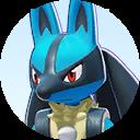 Combattant Lucario sur Pokémon UNITE