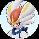 Combattant Pyrobut sur Pokémon UNITE