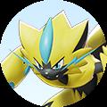 Combattant Zeraora sur Pokémon UNITE