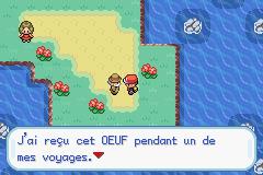 Togepi aux Îles Sévii Pokémon Rouge Feu et Pokémon Vert Feuille