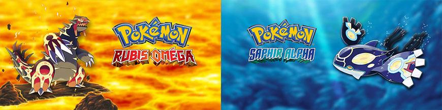 Pokémon Rubis Oméga et Saphir Alpha sur Nintendo 3DS