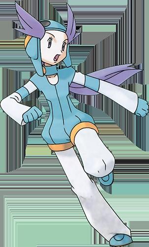 Alizée de Cimetronelle Pokémon Rubis et Saphir
