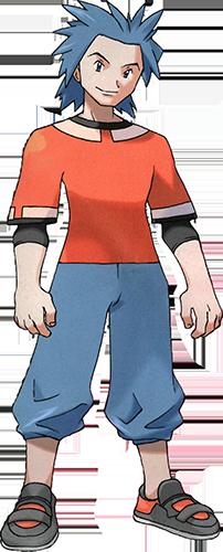 Bastien de Village Myokara Pokémon Rubis et Saphir
