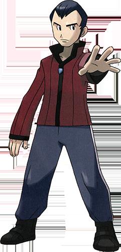 Norman de Clémenti-Ville Pokémon Rubis et Saphir