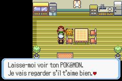Juge du bonheur Pokémon Rubis et Saphir