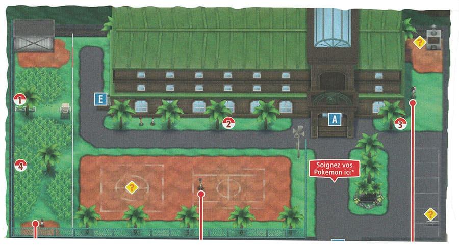 École de Dresseurs - Mele-Mele - Pokémon Ultra-Soleil et Ultra-Lune