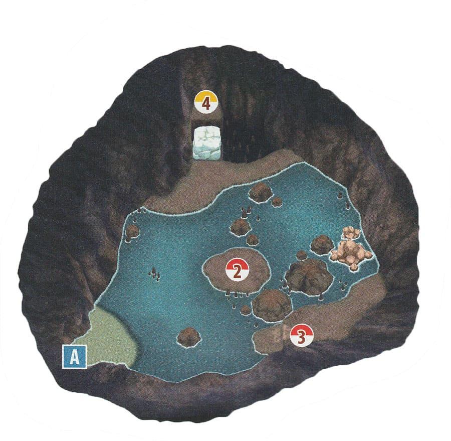 Grotte de la Plage - Mele-Mele - Pokémon Ultra-Soleil et Ultra-Lune
