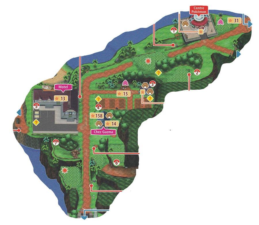 Route 2 - Mele-Mele - Pokémon Ultra-Soleil et Ultra-Lune