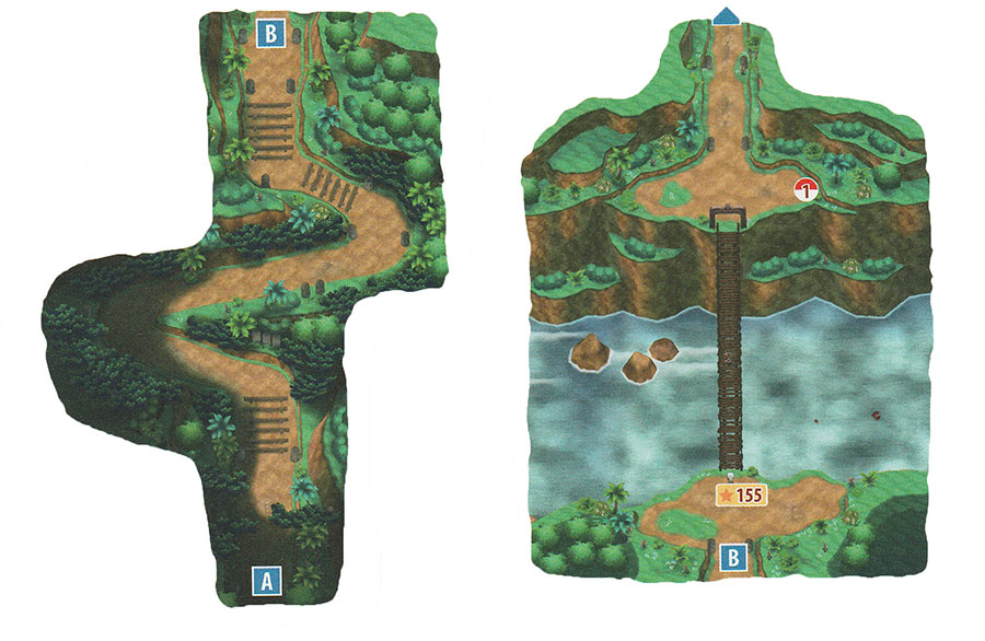 Sentier de Mahalo - Mele-Mele - Pokémon Ultra-Soleil et Ultra-Lune
