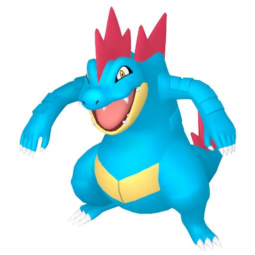 Modèle de Aligatueur - Pokémon GO