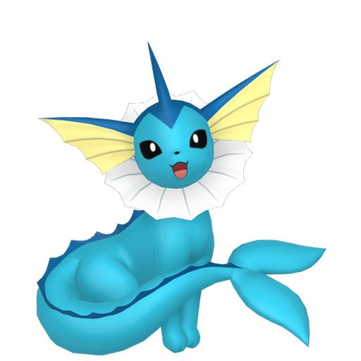 Modèle de Aquali - Pokémon GO