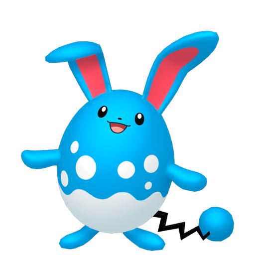 Modèle de Azumarill - Pokémon GO
