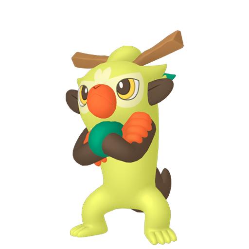Modèle de Badabouin - Pokémon GO