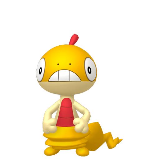 Modèle de Baggiguane - Pokémon GO
