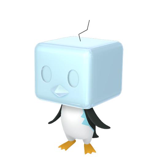 Modèle de Bekaglaçon - Pokémon GO