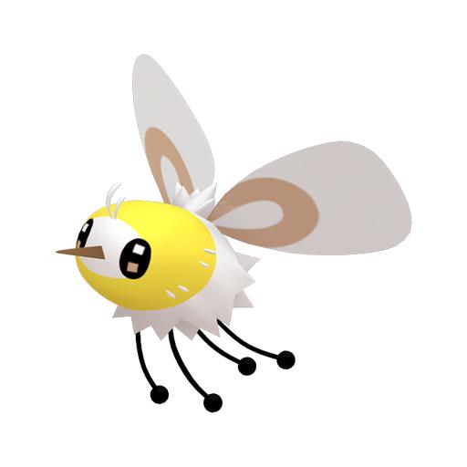 Modèle de Bombydou - Pokémon GO