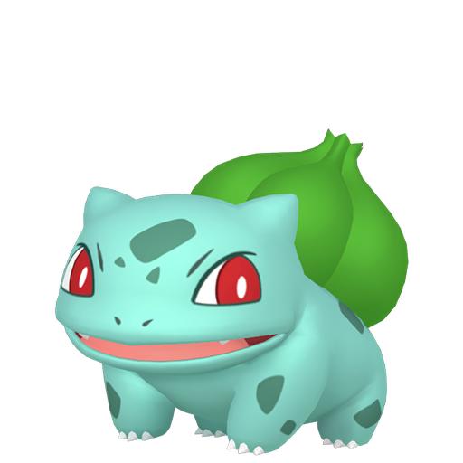 Modèle de Bulbizarre - Pokémon GO