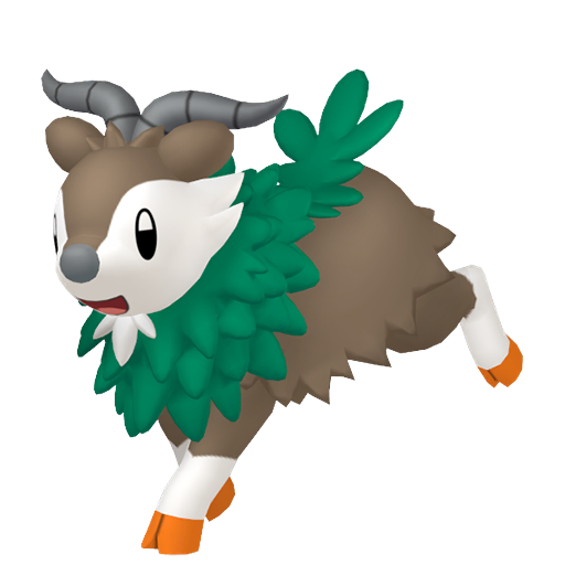 Modèle de Cabriolaine - Pokémon GO
