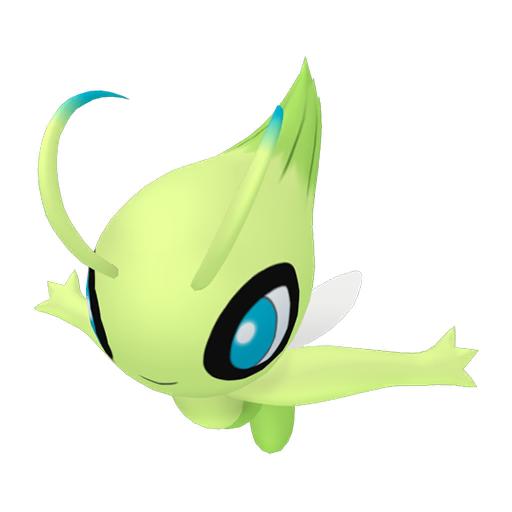 Modèle de Celebi - Pokémon GO